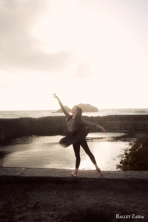 Dancer - Marina Baumann.<br /> <br /> Location - Sutro Bath Ruins. San Francisco, California.<br /> <br /> © 2011 Oliver Endahl