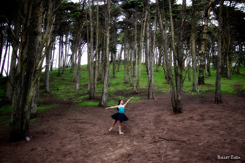 Dancer - Hannah Foster.<br /> <br /> Location - Sutro Heights Park. San Francisco, California.<br /> <br /> © 2011 Oliver Endahl