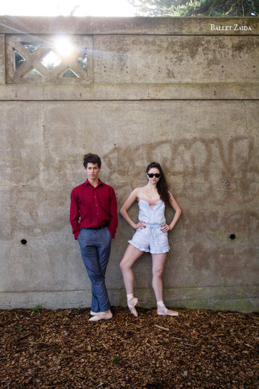 Dancers - Brandon Binkly & Caitlin McAvoy.<br /> <br /> Location - Sutro Heights Park. San Francisco, California.<br /> <br /> © 2011 Oliver Endahl