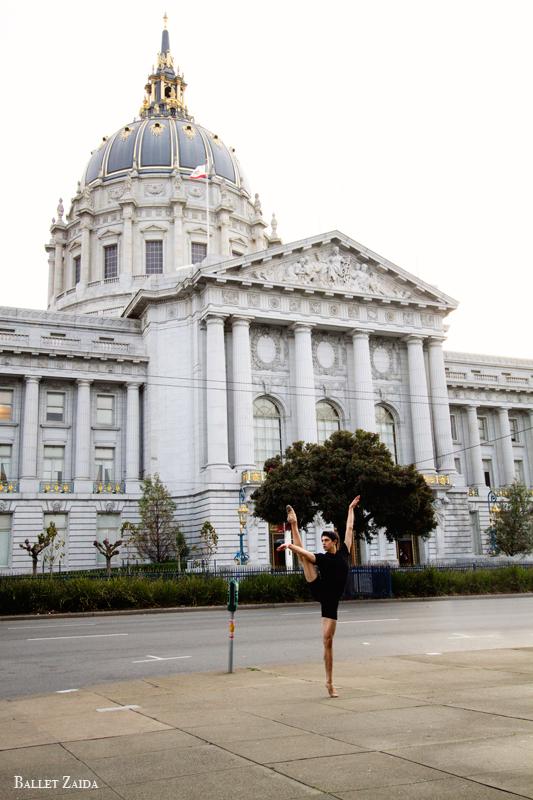 Dancer - Aaron Renteria.<br /> <br /> Location - Civic Center. San Francisco, California.<br /> <br /> © 2011 Oliver Endahl
