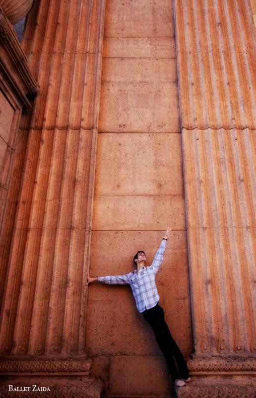 Dancer - Devon Carbone.<br /> <br /> Location - The Palace of Fine Arts. San Francisco, California.<br /> <br /> © 2011 Oliver Endahl