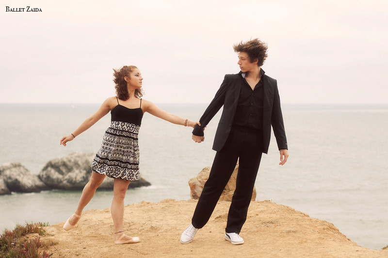Dancers - Bryn Gilbert & Géraud Wielick.<br /> <br /> Location - Lands End. San Francisco, California.<br /> <br /> © 2011 Oliver Endahl