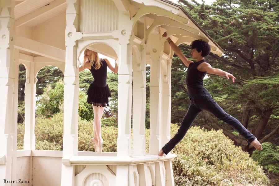 Dancers - Alanna Endahl & John Rowan.<br /> <br /> Location - Sutro Heights Park. San Francisco, California.<br /> <br /> © 2011 Oliver Endahl