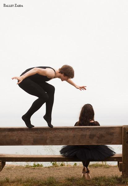 Dancers - Harrison James Wynn & Ellen Rose Hummel.<br /> <br /> Location - Marin Headlands. Sausalito, California.<br /> <br /> © 2011 Oliver Endahl