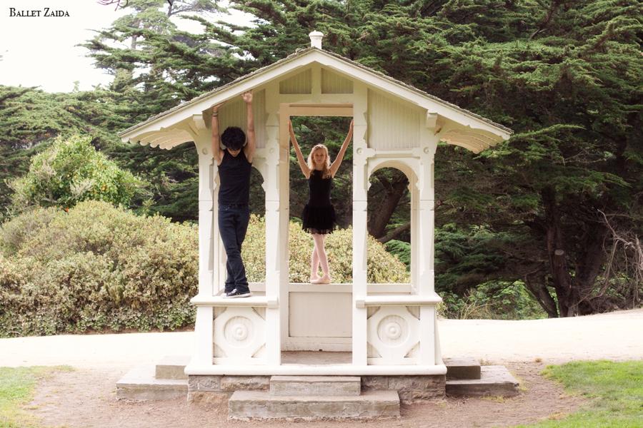 Dancers - John Rowan & Alanna Endahl.<br /> <br /> Location - Sutro Heights Park. San Francisco, California.<br /> <br /> © 2011 Oliver Endahl