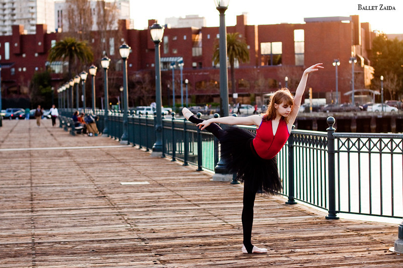 Dancer - Jenny Winton.<br /> <br /> Location - San Francisco, California.<br /> <br /> © 2011 Oliver Endahl