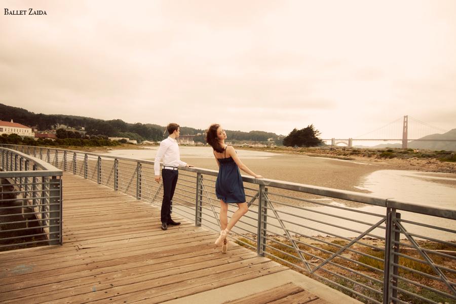 Dancers - Henry Sidford & Elizabeth Lloyd.<br /> <br /> Location - San Francisco, California.<br /> <br /> © 2011 Oliver Endahl