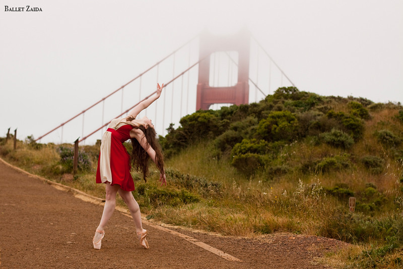 Dancer - Ellen Rose Hummel.<br /> <br /> Location - Sutro Heights Park. San Francisco, California.<br /> <br /> © 2011 Oliver Endahl