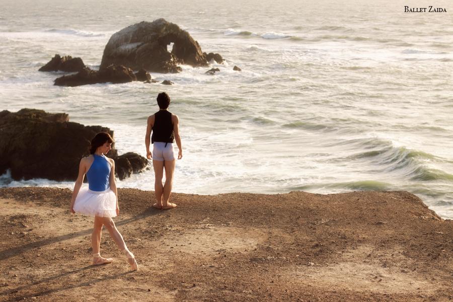 Dancers - Julia Rowe & Max Levy.<br /> <br /> Location - Lands End. San Francisco, California.<br /> <br /> © 2011 Oliver Endahl