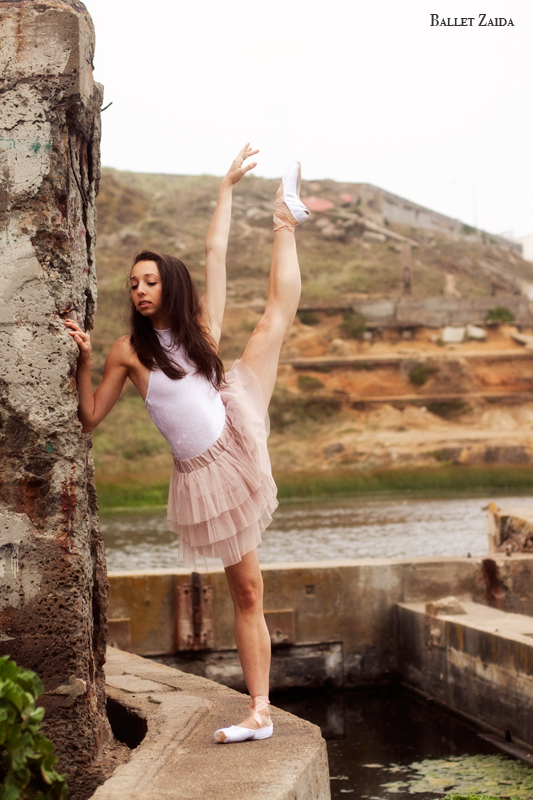 Dancer - Jordan Hammond.<br /> <br /> Location - Sutro Bath Ruins. San Francisco, California.<br /> <br /> © 2011 Oliver Endahl