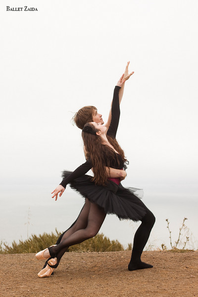 Dancers - Ellen Rose Hummel & Harrison James Wynn.<br /> <br /> Location - Marin Headlands. Sausalito, California.<br /> <br /> © 2011 Oliver Endahl