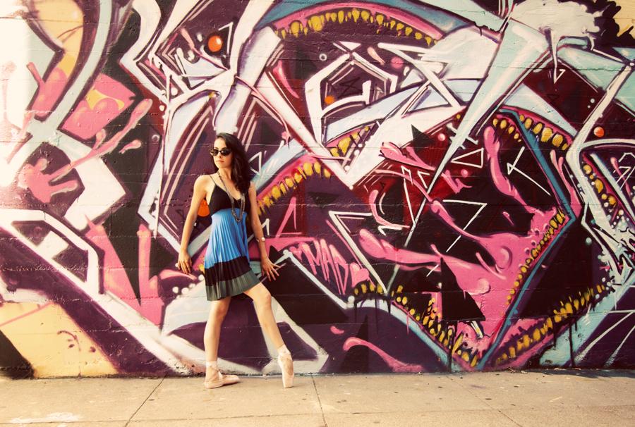 Dancer - Jessica Cohen.<br /> <br /> Location - San Francisco, California.<br /> <br /> © 2011 Oliver Endahl