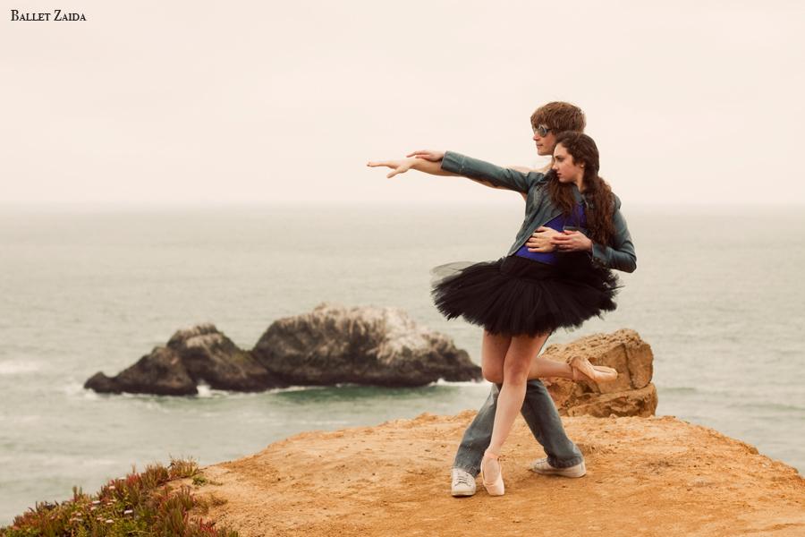 Dancers - Ellen Rose Hummel & Harrison James Wynn.<br /> <br /> Location - Lands End. San Francisco, California.<br /> <br /> © 2011 Oliver Endahl