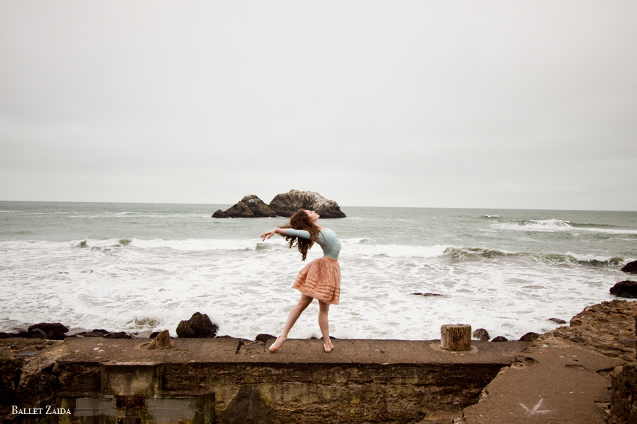 Dancer - Ellen Rose Hummel.<br /> <br /> Location - Sutro Heights Park. San Francisco, California.<br /> <br /> © 2011 Oliver Endahl