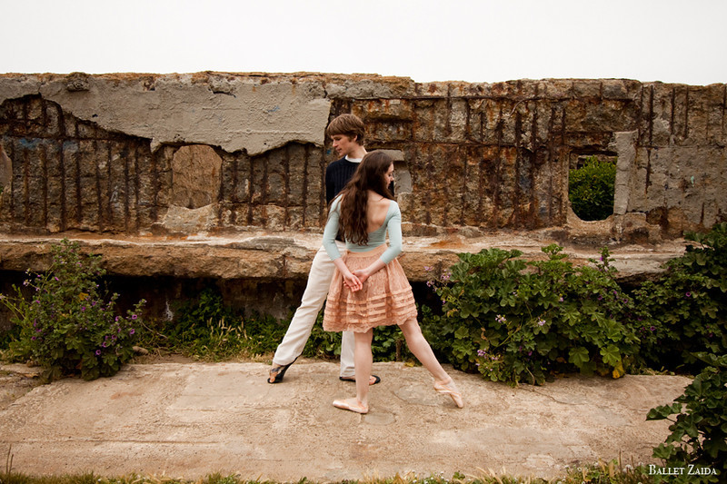 Dancers - Ellen Rose Hummel & Harrison James Wynn.<br /> <br /> Location - Sutro Bath Ruins. San Francisco, California.<br /> <br /> © 2011 Oliver Endahl