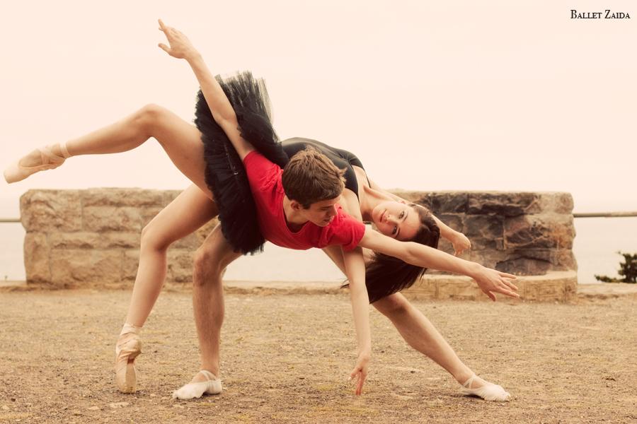 Dancers - Henry Sidford & Elizabeth Lloyd.<br /> <br /> Location - Sutro Heights Park. San Francisco, California.<br /> <br /> © 2011 Oliver Endahl