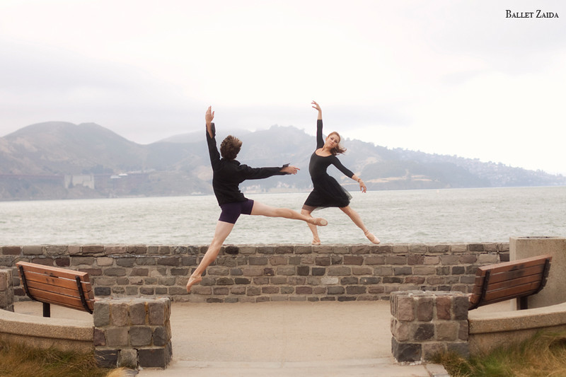 Dancers - Géraud Wielick & Bryn Gilbert.<br /> <br /> Location - San Francisco, California.<br /> <br /> © 2011 Oliver Endahl