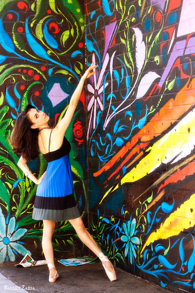 Dancer - Jessica Cohen.<br /> <br /> Location - San Francisco, California.<br /> <br /> © 2011 Oliver Endahl