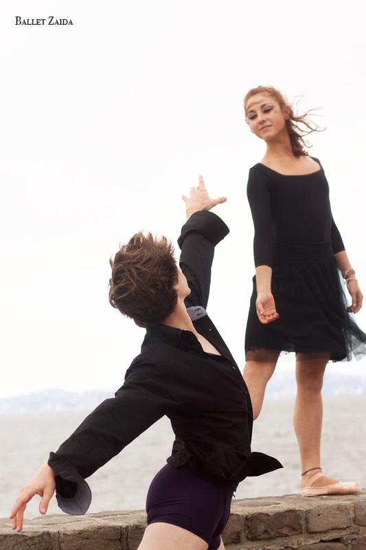 Dancers - Géraud Wielick & Bryn Gilbert.<br /> <br /> Location - San Francisco, California.<br /> <br /> © 2011 Oliver Endahl