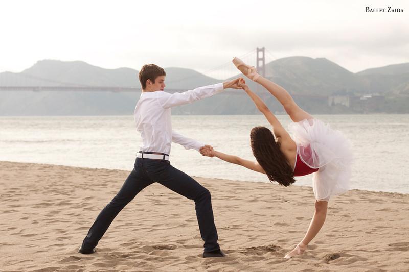 Dancers - Henry Sidford & Mimi Tompkins.<br /> <br /> Location - San Francisco, California.<br /> <br /> © 2011 Oliver Endahl