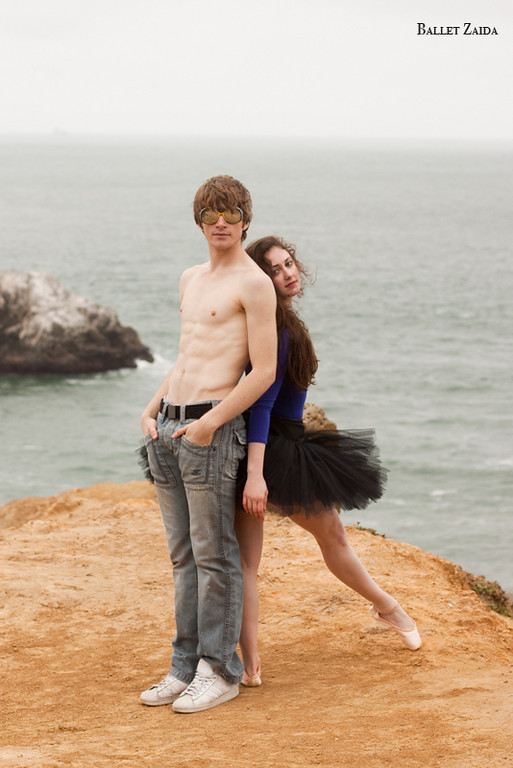 Dancers - Ellen Rose Hummel & Harrison James Wynn.<br /> <br /> Location - Lands End. San Francisco, California.<br /> <br /> © 2011 Oliver Endahl