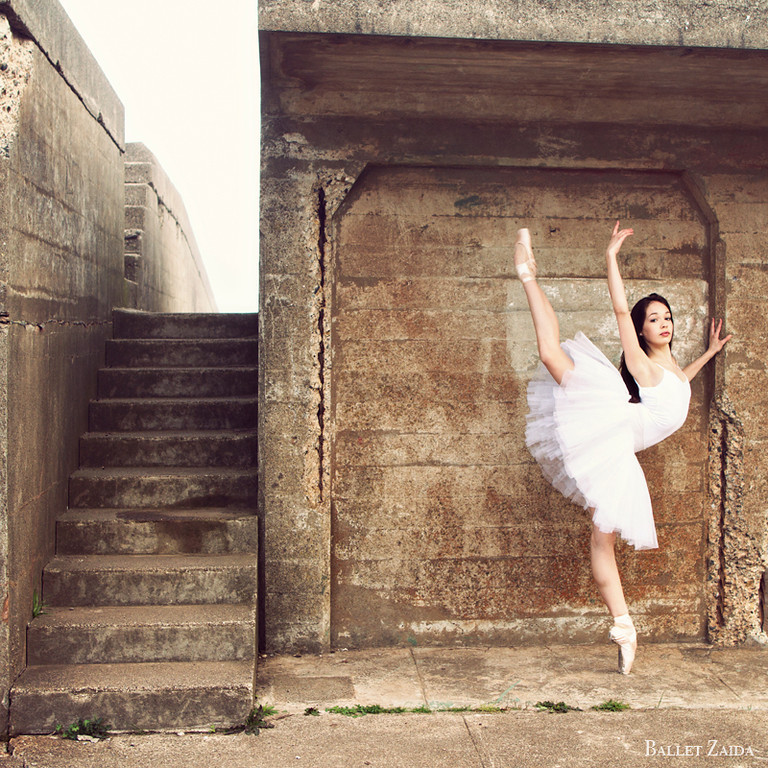 Dancer - Juliet Doherty.<br /> <br /> Location - Battery Godfrey. San Francisco, California.<br /> <br /> © 2013 Oliver Endahl