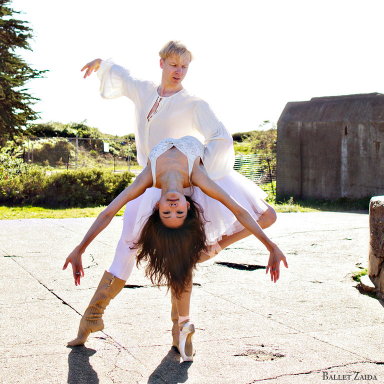 Dancers - Tiit Helimets & Wan Ting Zhao.<br /> <br /> Location - Battery Godfrey. San Francisco, California.<br /> <br /> © 2013 Oliver Endahl
