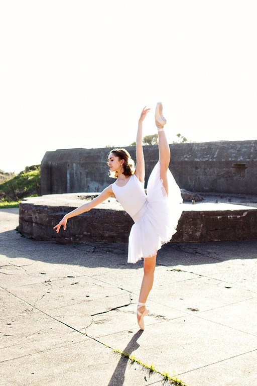 Dancer - Jeanette Kakareka. <br /> <br /> Location - San Francisco, California. <br /> <br /> © 2013 Oliver Endahl