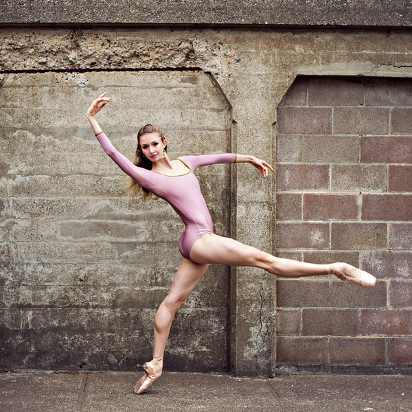 Dancer - Kristina Lind.<br /> <br /> Location - Battery Godfrey. San Francisco, California.<br /> <br /> © 2013 Oliver Endahl