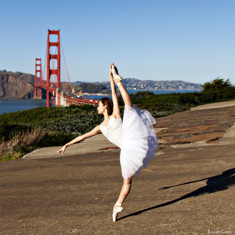 Dancer - Wan Ting Zhao.<br /> <br /> Location - Battery Godfrey. San Francisco, California.<br /> <br /> © 2013 Oliver Endahl