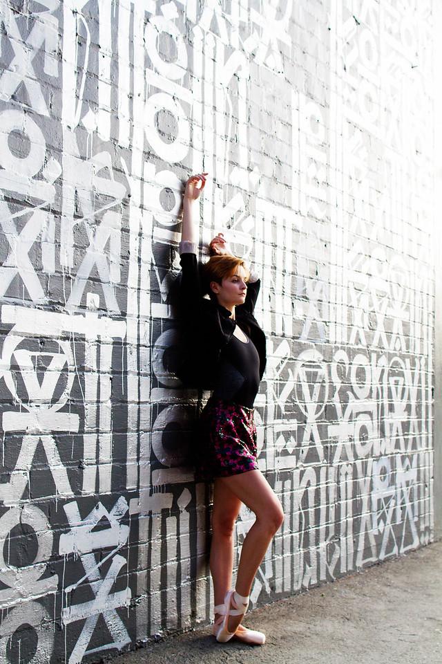 Affinity - Nicole Voris.<br /> <br /> Mural - RETNA.<br /> <br /> Location - Los Angeles, California. <br /> <br /> Ballet Zaida is on Instagram. Username: BalletZaida