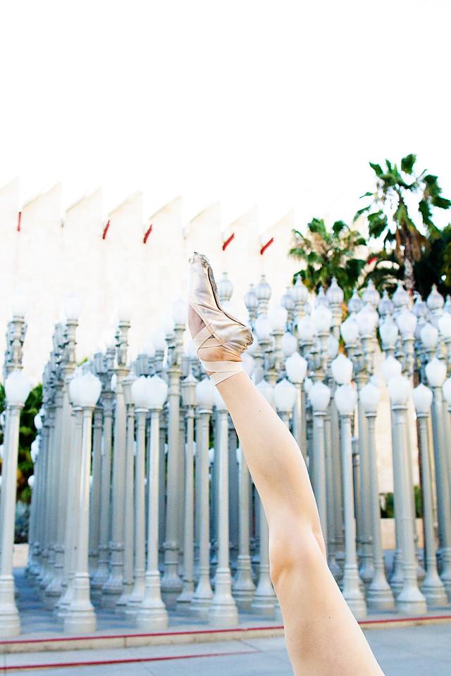 Dancer - Emily Cairns.<br /> <br /> Location - LACMA. Los Angeles, California.<br /> <br /> Ballet Zaida is on Instagram. Username: BalletZaida