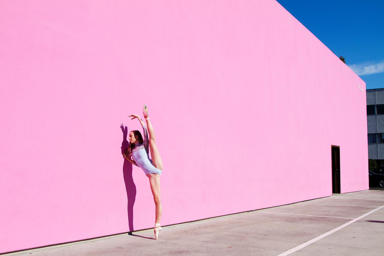 Dancer - Emily Cairns.<br /> <br /> Location - Los Angeles, California.<br /> <br /> Ballet Zaida is on Instagram. Username: BalletZaida