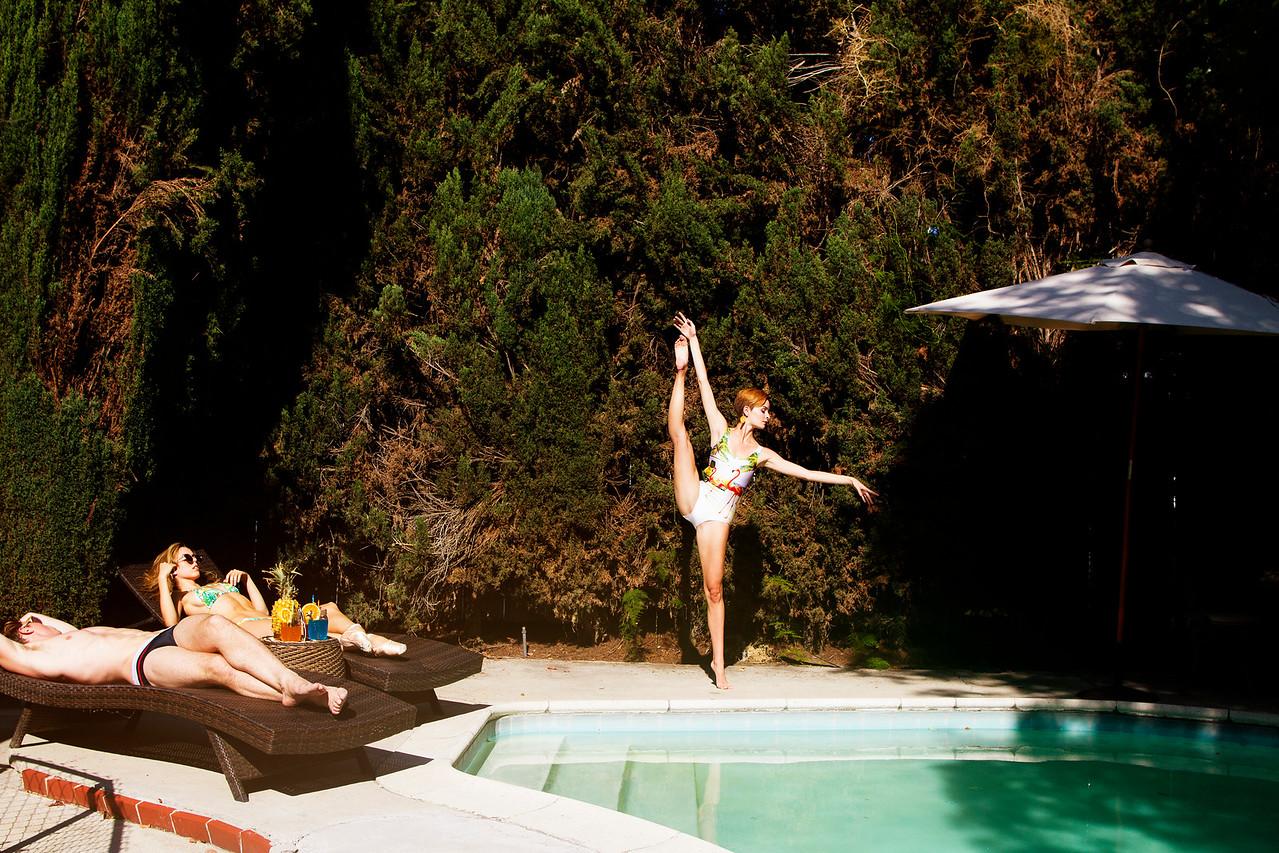 Affinities - Stephen Jacobsen, Morgan Quinn & Nicole Voris.<br /> <br /> Wearing - Poprageous. <br /> <br /> Location - Los Angeles, California.<br /> <br /> Ballet Zaida is on Instagram. Username: BalletZaida