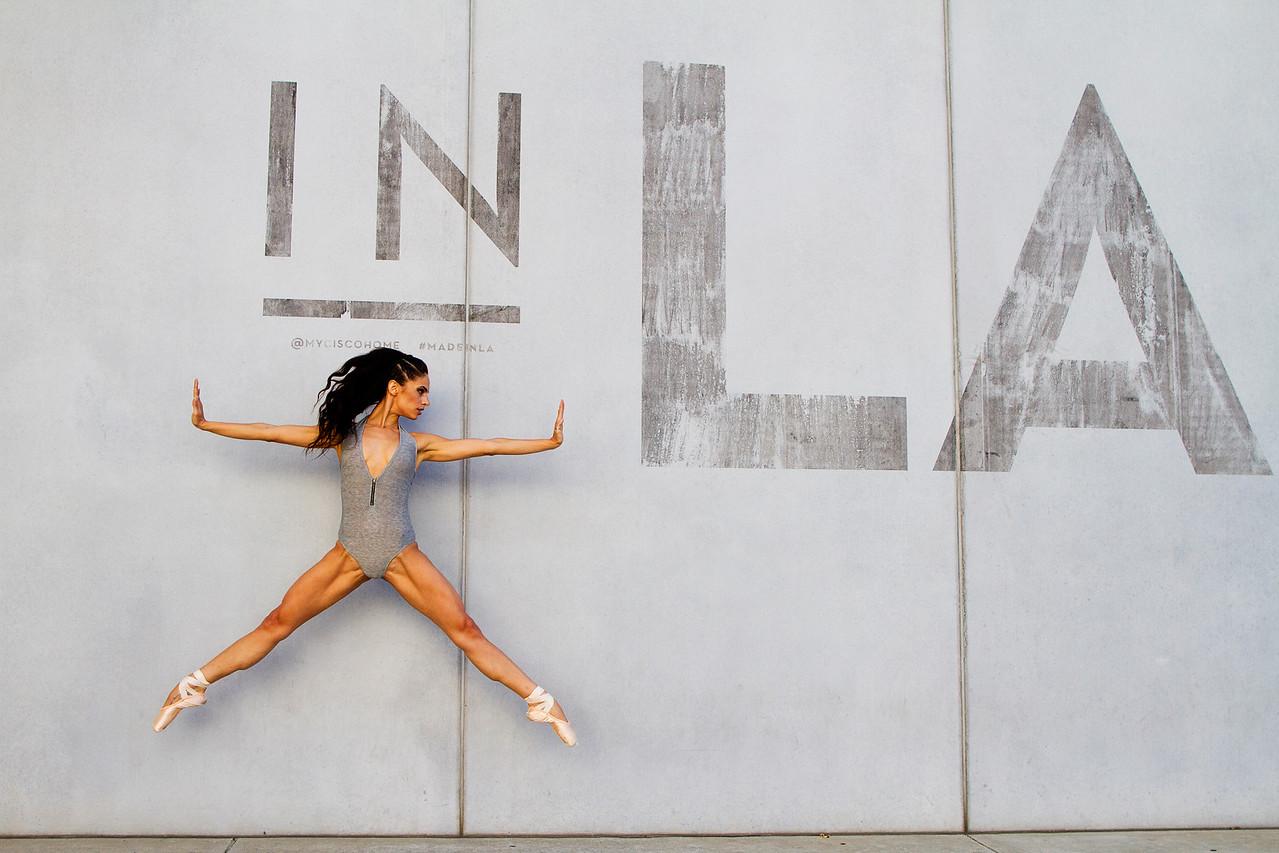 Dancer - Kylie Shea Lewallen. <br /> <br /> Location - Los Angeles, California. <br /> <br /> Ballet Zaida is on Instagram. Username: BalletZaida