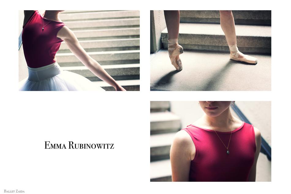 Dancer - Emma Rubinowitz.<br /> <br /> © 2012 Oliver Endahl