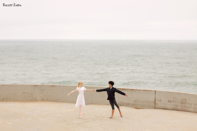 Dancers - Alanna Endahl & John Rowan.<br /> <br /> Location - Lands End. San Francisco, California.<br /> <br /> © 2011 Oliver Endahl