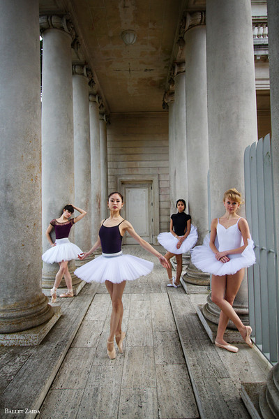 Dancers - Emma Rubinowitz, Koto Ishihara, Jeraldine Mendoza, & Alanna Endahl.<br /> <br /> Location - The Legion of Honor. San Francisco, California.<br /> <br /> © 2012 Oliver Endahl