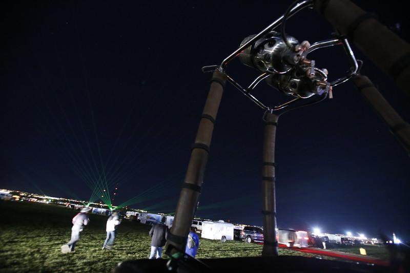 Albuquerque International Balloon Fiesta on Tuesday, October 10, 2017. Luis Sánchez Saturno/The New Mexican