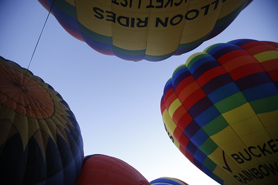 Albuquerque International Balloon Fiesta on Tuesday, October 10, 2017. Luis Sánchez Saturno/The New Mexican