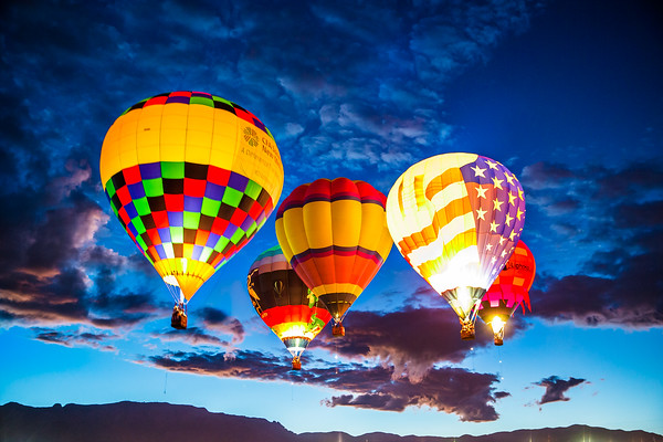 Dawn Patrol - Balloon Fiesta 2016