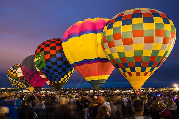 Dawn Patrol at Balloon Fiesta 2015