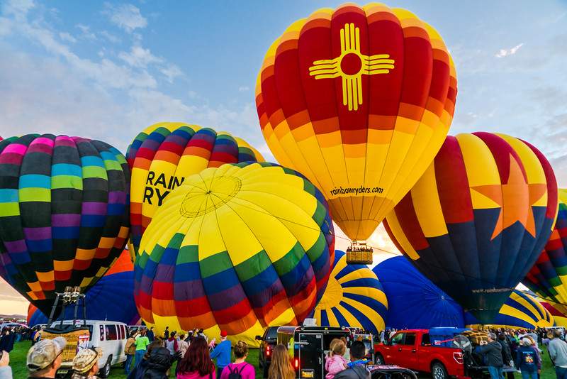 New Mexico at Balloon Fiesta 2016