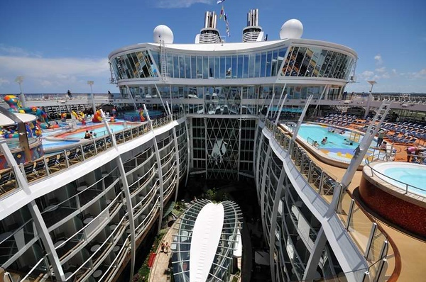 Oasis of the Seas Central Park Overlook