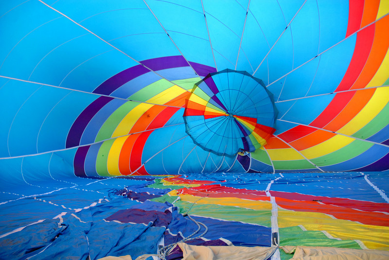 Skittles Inflates -  Hot Air Balloon Glow