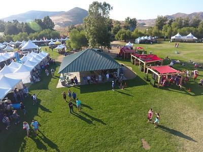 Balloon and Wine Festival - Drone Photos