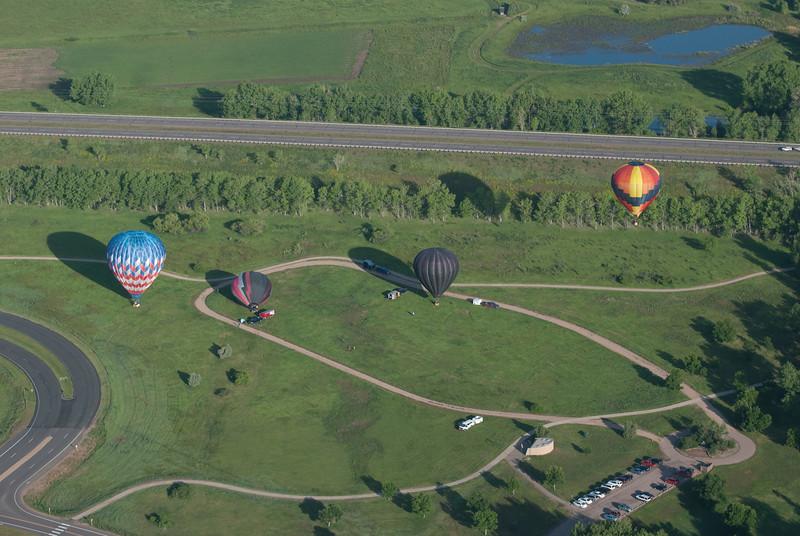 Hot Air Ballooning June 14th 2009-46