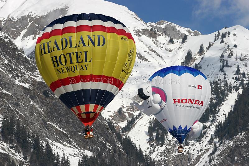 G-BYPD | Cameron A-105 | Headland Hotel