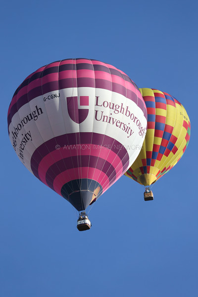 G-CGNJ   Cameron Z-105   Trustees of Loughborough Students Union Hot Air Balloon Club
