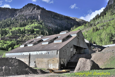 The old mine.